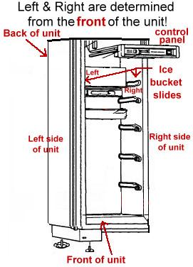 Sub zero parts refrigerator part replacements subzero for Sub zero 632 condenser fan motor